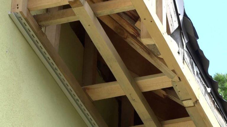Обрешетка для подшивки крыши